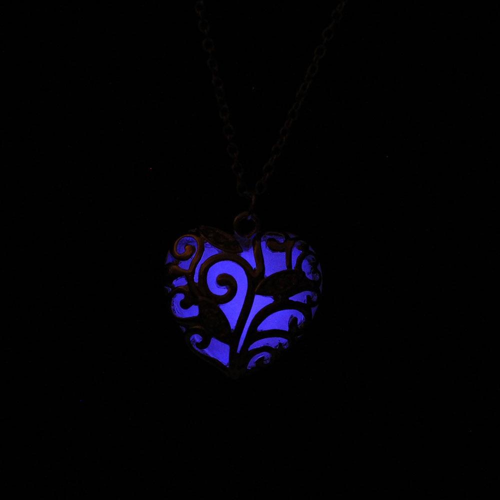 Glowing Heart Chakra Pendant 3