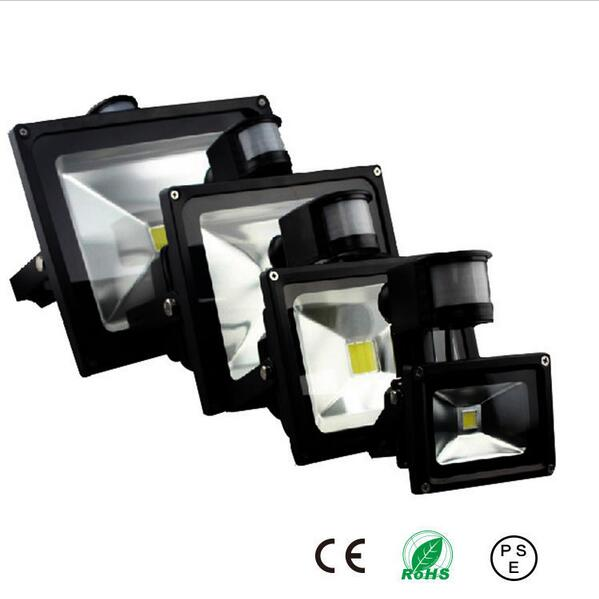 Pir led flood light motion sensor outdoor lighting 10w 20w 30w 50w pir led flood light motion sensor outdoor lighting 10w 20w 30w 50w waterproof ip65 ac85 256v induction sense lamp garden light in led bulbs tubes from mozeypictures Gallery
