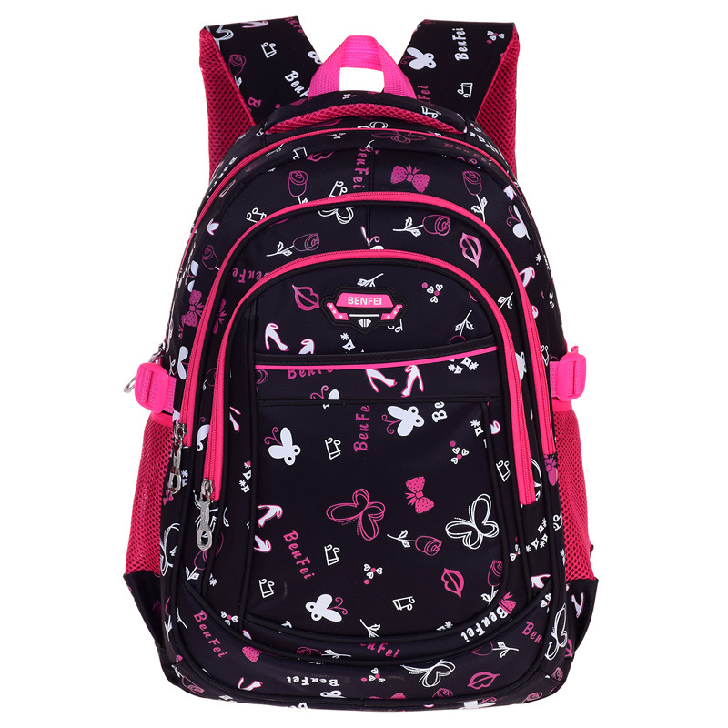 2016 Nylon Children Orthopedic Backpack School Bags For Girls Kids Randoseru Back Pack School Bag Satchel Mochila Escolar Menino