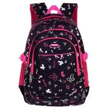 2016 Nylon Children Orthopedic Backpack School Bags For Girls Kids Randoseru Back Pack School Bag Satchel