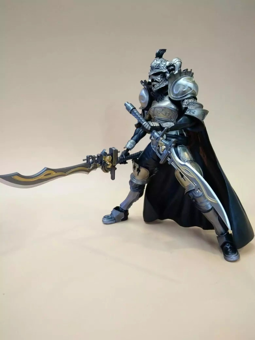 Huong Anime Figure 28 CM SQUARE ENIX Play Arts KAI Final Fantasy DISSIDIA Gabranth PVC Action Figure Collectible Model Toy