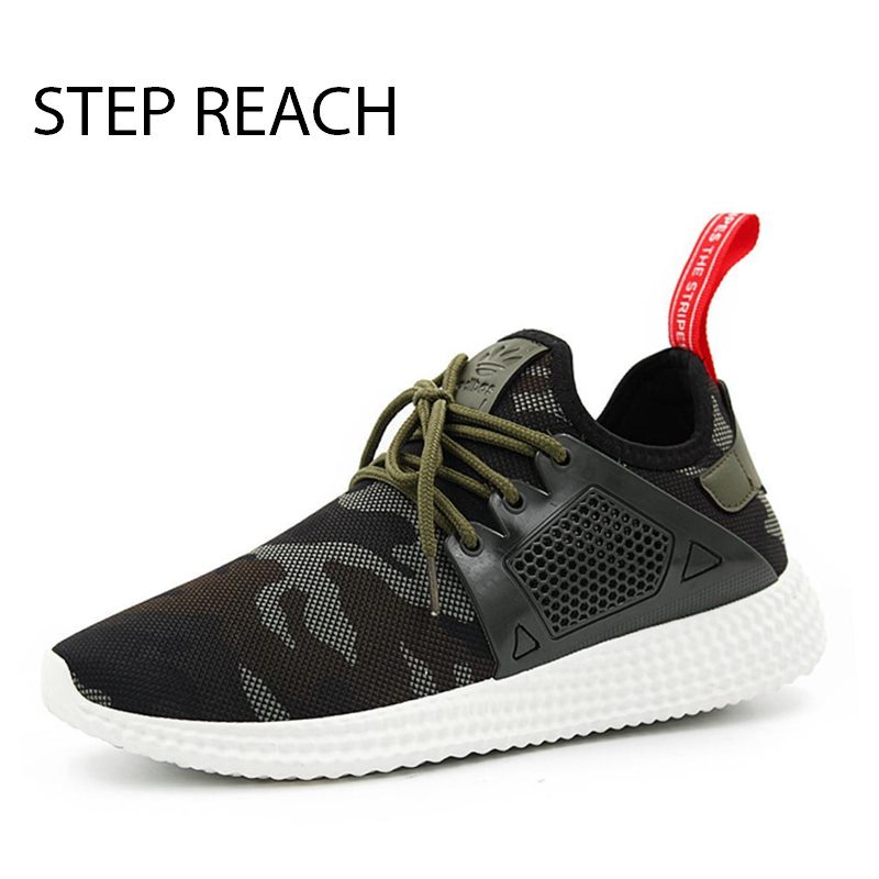 STEPREACH Brand shoes men camouflage tenis masculino adulto sapato masculino chaussure homme tenis feminino Casual Breathable