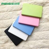 New Style 2 5 PIRISI HDD Slim Colorful External Hard Drive 250GB USB2 0 Portable Storage