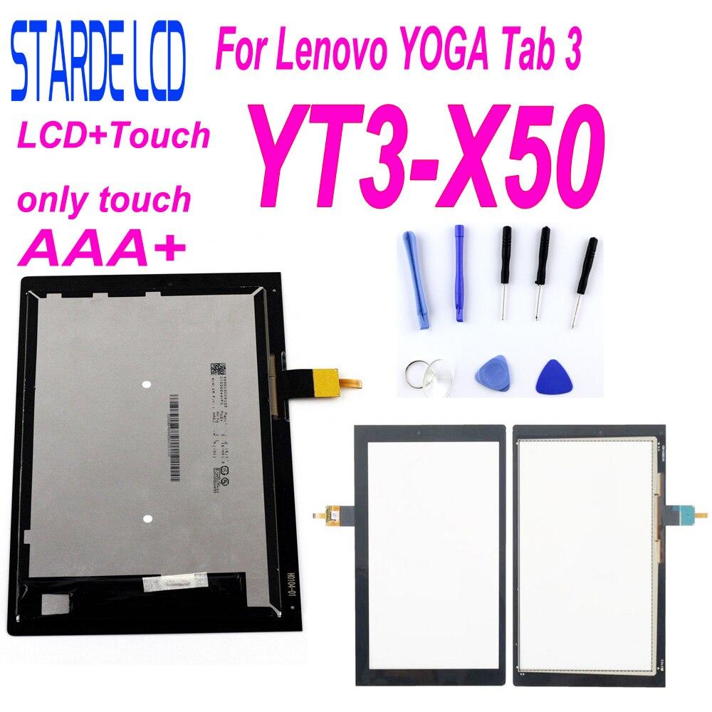 STARDE запасной ЖК-дисплей 10,1 дюйма для Lenovo YOGA Tab 3 YT3-X50 YT3-X50F LCD дисплей сенсорный экран дигитайзер в сборе