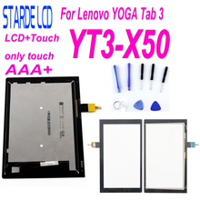цена STARDE Replacement LCD 10.1 inch For Lenovo YOGA Tab 3 YT3-X50 YT3-X50F YT3-X50M LCD Display Touch Screen Digitizer Assembly
