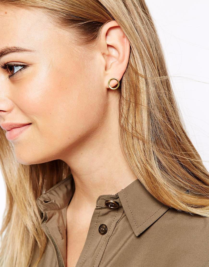 product collection circle shop earrings stud open nordstrom rack of ariella image