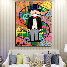 Alec Monopoly Wall Art Canvas Posters And Prints Painting Decorative Pictures For Office Living Room Home Decor Wallpaper
