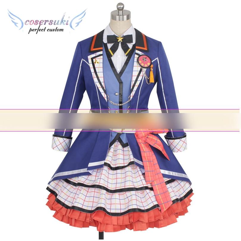 BanG Rêve! Fête des filles! Vêtements de Performance de scène de Costume de Cosplay de Kasumi Toyama, coutume parfaite pour vous!