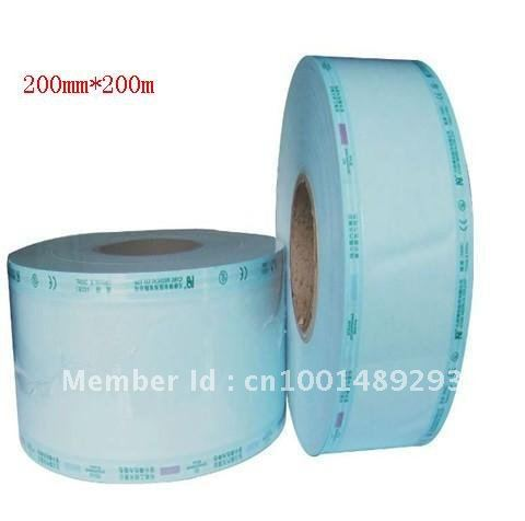 quality warranted CE GD-SP 4rolls 200mm*200m/roll plat autoclave sterilized packing pouch bags