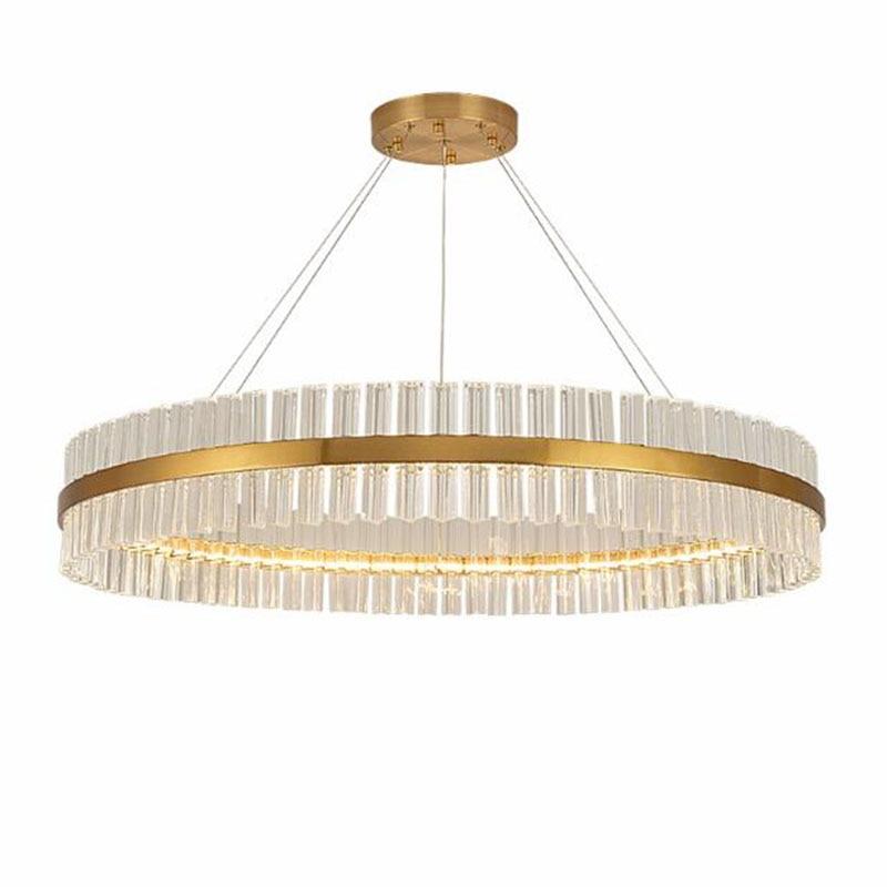 Светодиодный Золотой Кристалл для гостиной, люстра для спальни, украшение для дома|Люстры|   | АлиЭкспресс