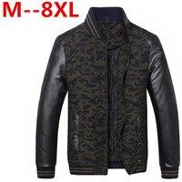 10XL 8XL 6XL Men Classic Cotton Padded Jacket Autumn Winter Male Multipocket Thicken Parka Warm Windbreak