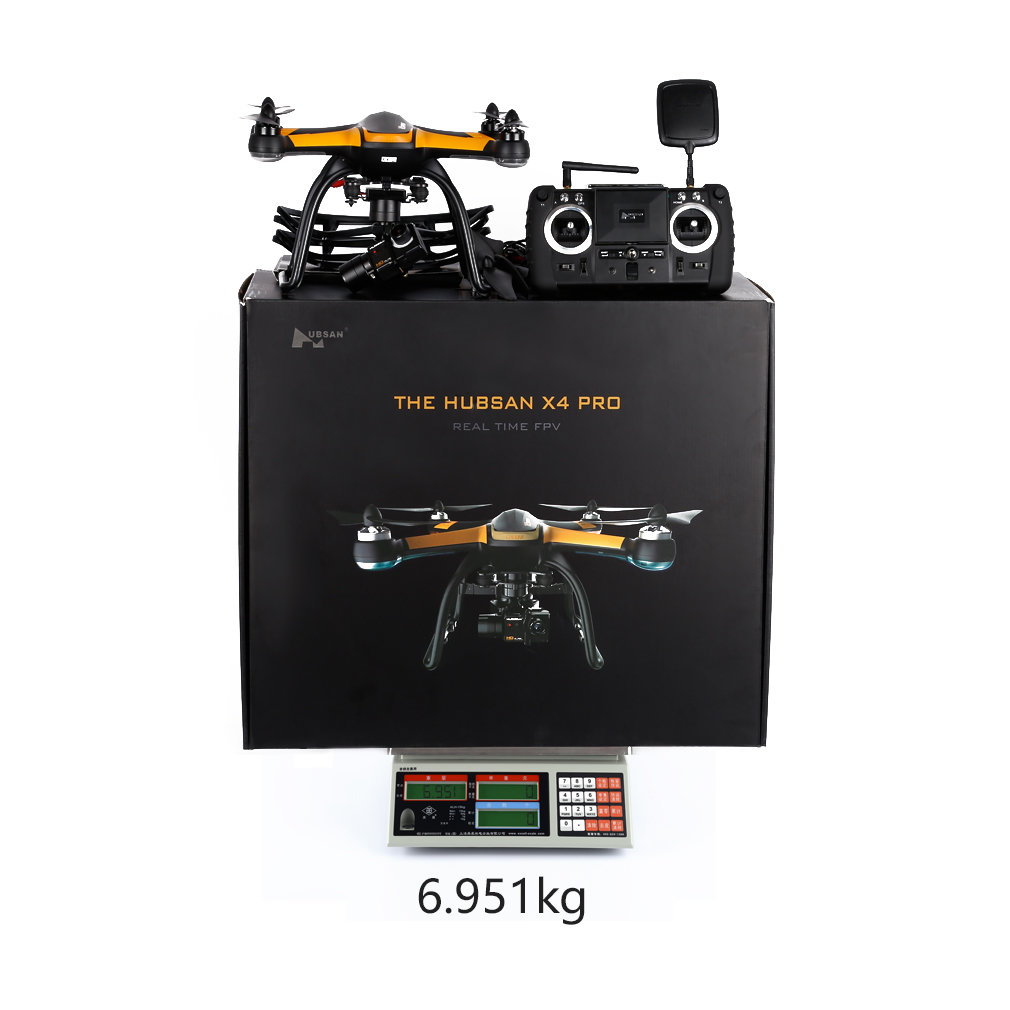 Hubsan X4 Pro H109S Black RC Drone 5.8G FPV with 1080P HD Camera 1 Axis Gimbal GPS 7CH Quadcopter RTF Drone Standard Edition Hot
