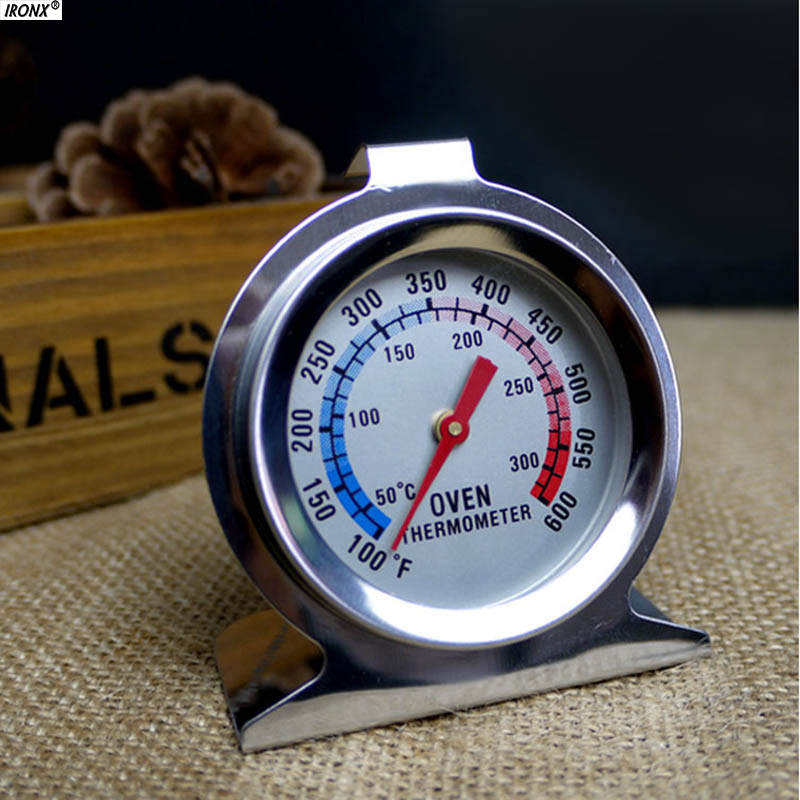 IRONX Food Meat Temperature Stand Up Dial Oven Thermometer Stainless Steel Gauge Gage Ki ...