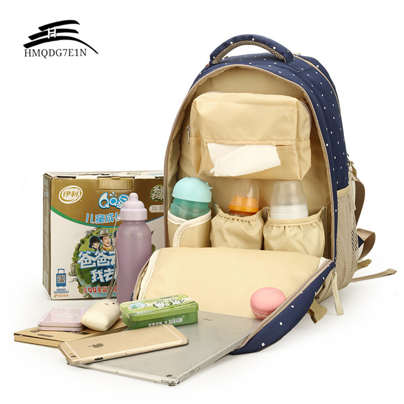 Top Quality Multifunction Waterproof Mommy Backpack Nappy Bag Large Capacity Diaper Mommy Bags for Baby Oxford Mother Bag Bolsa