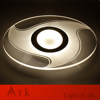 MODERN LED Acrylic Written Round Eye Minimalism Ultrathin Ceiling Light High Brightness Living Study BED Room