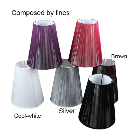 Pull Line Fabric Wall Light Lamp