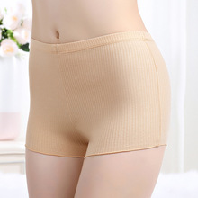 New Women Summer Sexy Skinny Safety Short Pants Cotton Elastic Shorts Slim Invisible Pants Skintight Underwear Striped panties