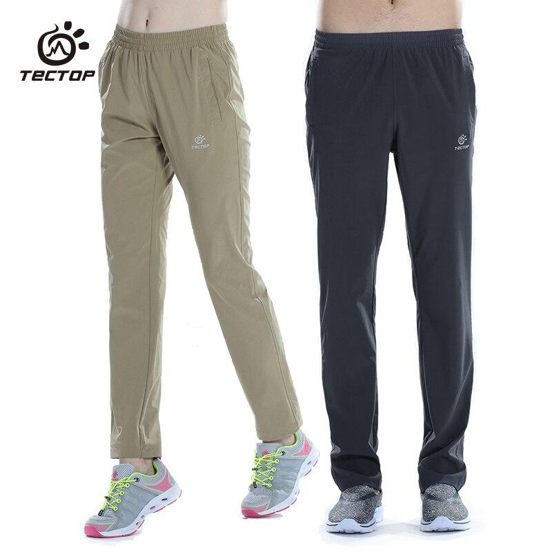 Tectop Men Women quick drying High elastic Pants Outdoor Trousers недорго, оригинальная цена