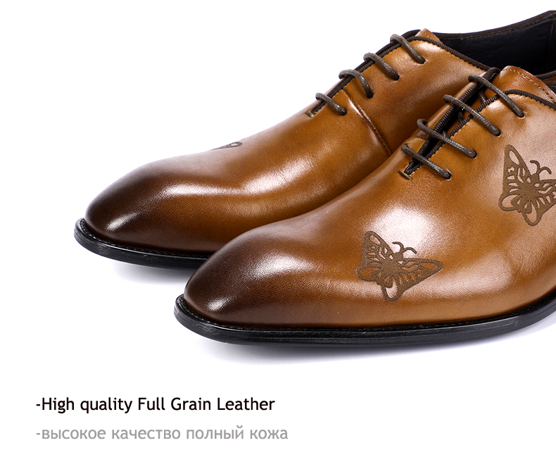 Men`s Leather Casual Shoes Business Mens Genuine Leather Moccasins Men Oxfords Shoe Office Casual Leather Shoes Men Big Size 45 (10)