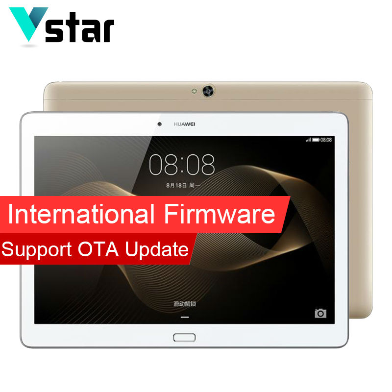International Firmware Huawei Mediapad M2 10.0 3GB RAM 64GB ROM 10.1 Inch Octa Core Tablets PC GPS Android Kirin 930 13MP Camera