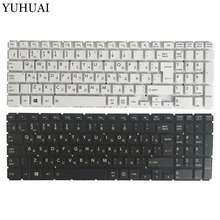 New Russian laptop keyboard for Toshiba Satellite L50-B L55-B L55DT-B S50-B S55-B black/white RU Keyboard(China)