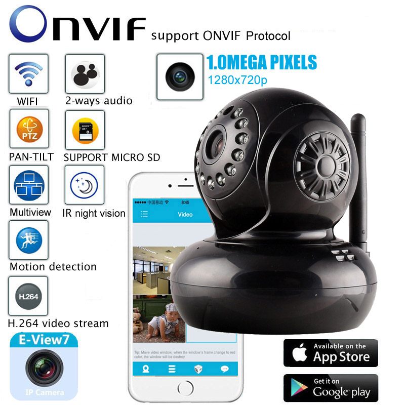 surveillance camera wireless ip camera 720p 1.0mp hd wifi CCTV camera infrared night vision p2p baby monitor ptz security camera  new home security ip camera wireless wifi camera surveillance 720p night vision cctv baby monitor hd infrared video surveillance