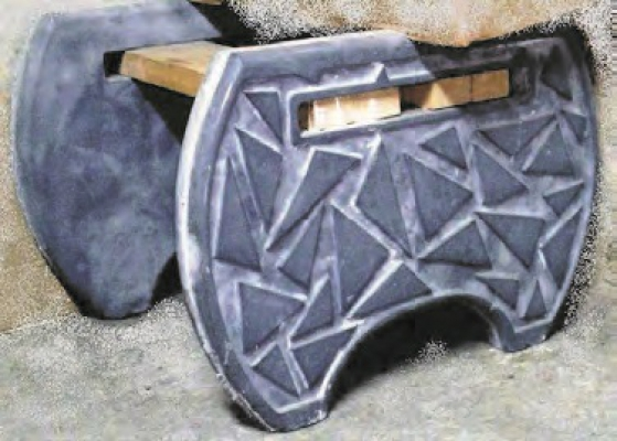 Plastic Molds For Concrete Benches For Garden Plaster