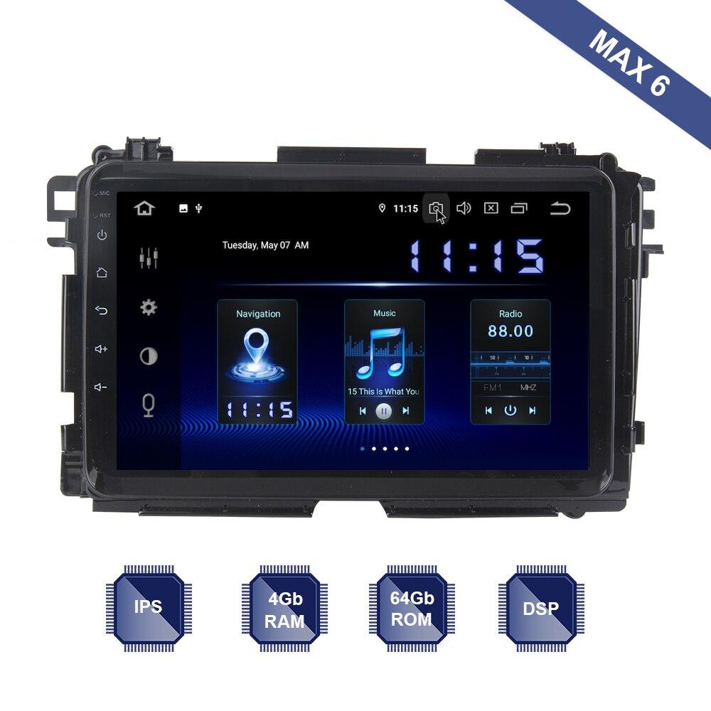 Android 9 0 Car Radio 2 Din GPS Navi for Honda Vezel HR V HRV 2014