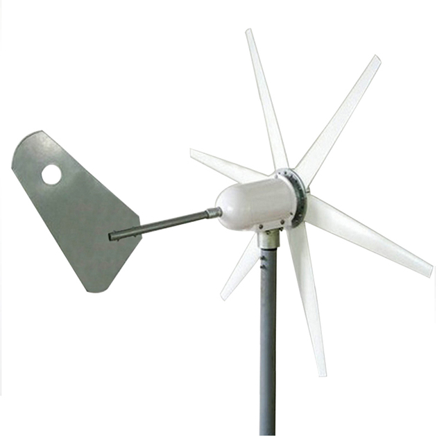 wind generator 1m/s start wind speed 400W three phase wind turbine generator 6 blades 12V 24V AC wind turbine CE & RoHS approved