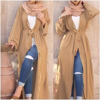 2017 Fashion Muslim Adult Abaya Arab Fashion Turkey Middle East Beading Cardigan Dresses Musical Robe Ramadan