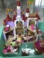 LELE 37001 Princesa Belles Bloques de Construcción del Castillo Encantado Para Amigas Niños Juguetes Modelo minis Marvel Compatible 41067