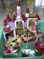 LELE 37001 Princess Belles Enchanted Castle Building Blocks For Girl Friends Kids Model Toys minis Marvel Compatible 41067
