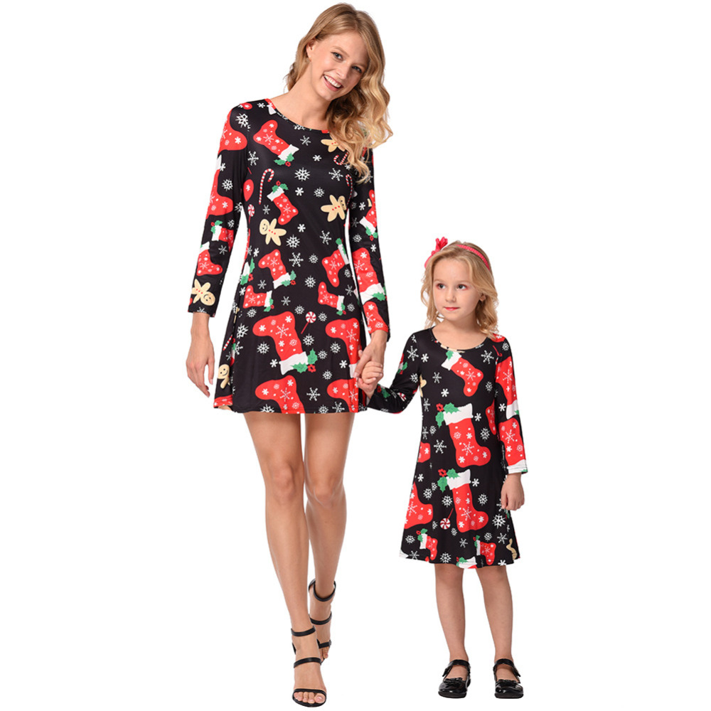 542312767f4cb store your favorite christmas dress mother and daughter in STORE VIVO