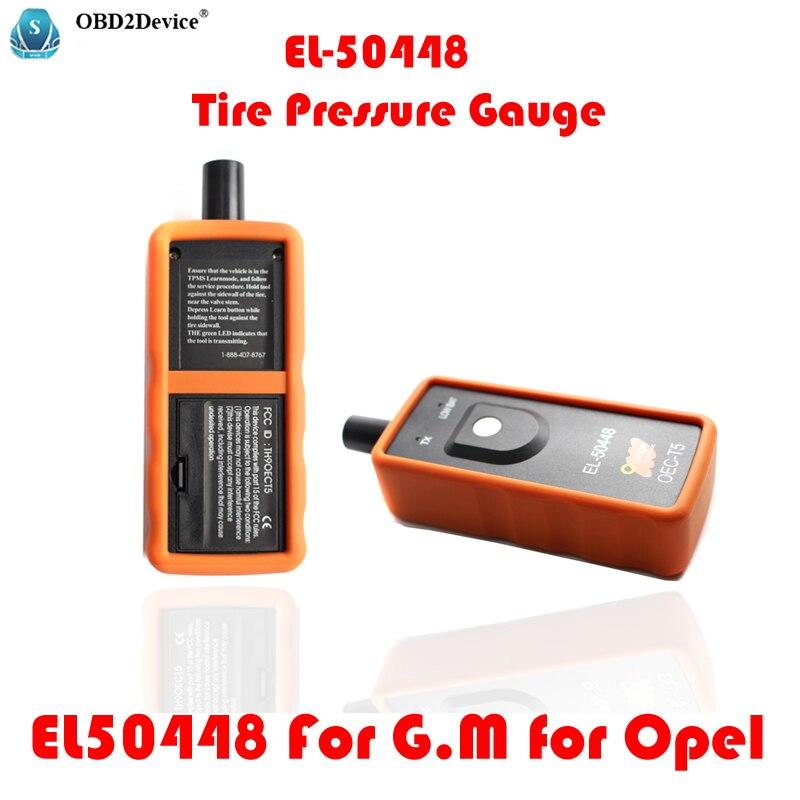 Vente chaude EL 50448 Moniteur de Pression des Pneus Capteur TPMS Activation Outil EL-50448 Pour SPX Nouvel Outil Voiture Vehice Auto Automobile