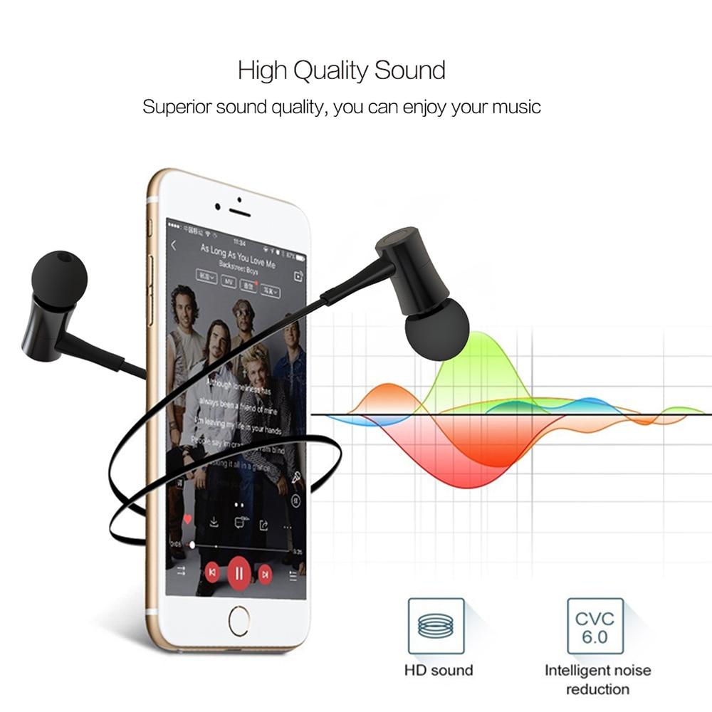 LYMOC HT3 Magnet Switch Sport Bluetooth Headset Metal Wireless Stereo Earphone Waterproof Noise Reduction Handsfree Mic Earbud