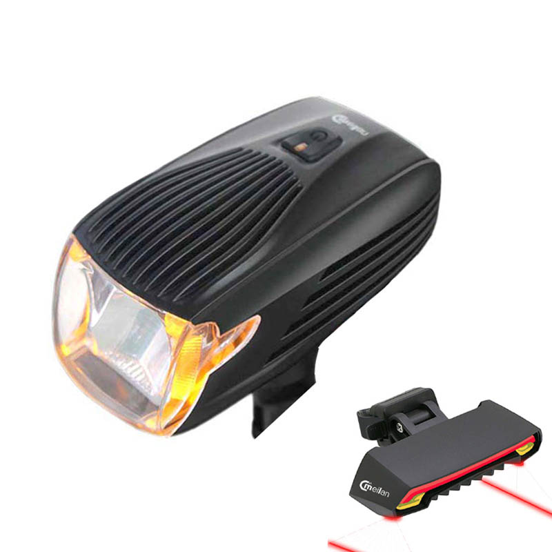 Bicycle Light Set Led Flashlight Lighting Smart Front Headlights Bike light Rear Laser Taillight Turn Brake Safety Tail Lamps Bicycle Light Set Led Flashlight Lighting Smart Front Headlights Bike light Rear Laser Taillight Turn Brake Safety Tail Lamps