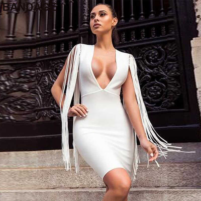 b1f0ce0df70 Leger Babe 2019 Summer Night Club Sexy Going Out Women Outlet V Neck Mini  Bodycon Strappy