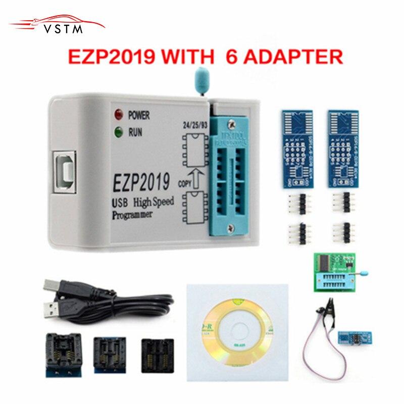 Nova EZP2019 Alta Velocidade USB SPI Programador Melhor do que EZP2013 EZP2010 2011 Apoio 24 25 26 93 25 EEPROM Flash bios