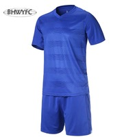 BHWYFC Custom Best Thai Quality Football Jerseys 2017 Kids Men Soccer Jerseys Kits Training Suit Adults