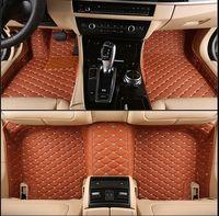 No Odor Full Covered Durable Waterproof Non Slip Carpets Special Car Floor Mats For Cadillac ATS CTS XTS Escalade Most Models