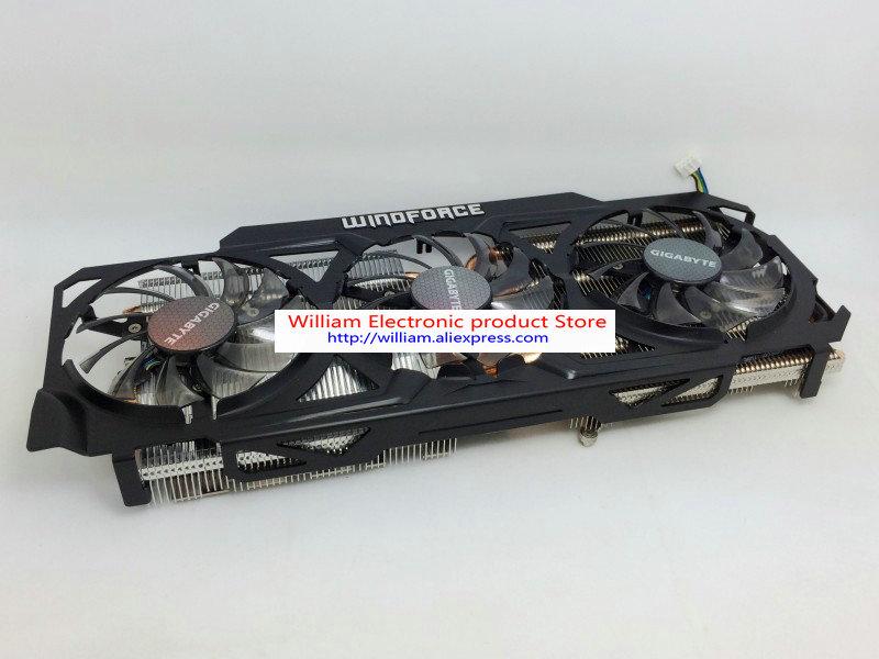 New Original Graphics card cooling fan for Gigabyte GTX770 4GB GV N770OC 4GB 6 heat pipe