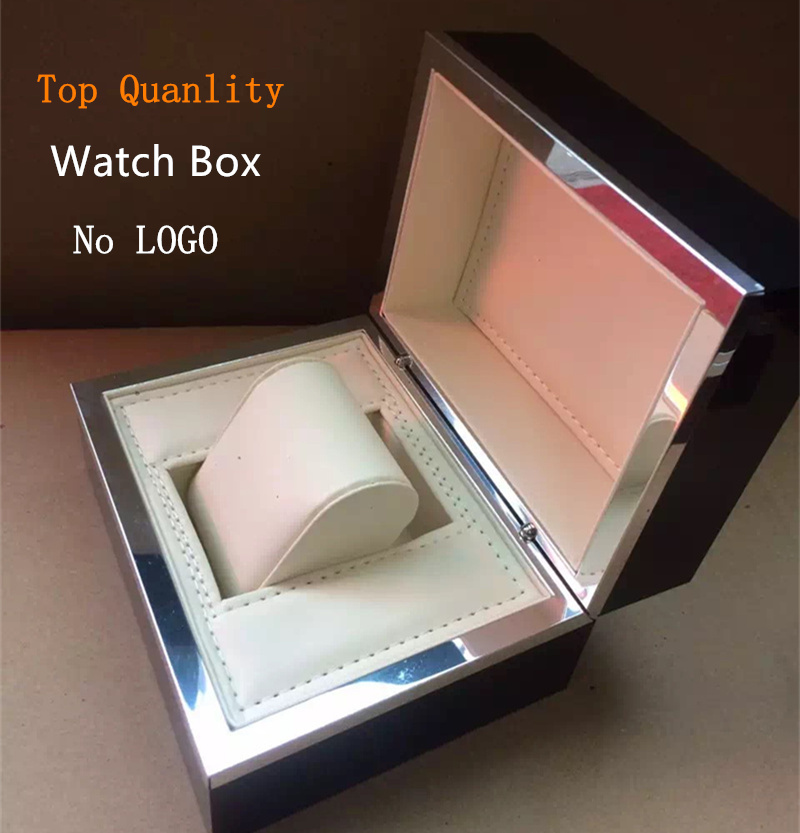 2017 Top Watch Box Fashion Black Brand Watch Gift Box Special Design Watch Storage Cases With Pillow Can Customize LOGO P014  black out watch box