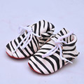 Wholesale sales Genuine Leather Baby shoes First Walkers Suede Horse hair Leather Baby Moccasins Soft bottom newborn Bebe shoes