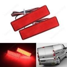 2x светодиодный задний бампер Отражатели Стоп Хвост свет для Opel/Vauxhall VIVARO MOVANO (ca326)