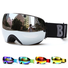 New Brand Ski Goggles Double UV400 Anti-fog Big Ski Mask Glasses Skiing Professional Men Women Snow Snowboard Eyewear