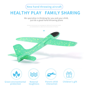 Image 5 - 4pcs Airplane Hand Throwing Foam Plane Model Children Outdoor Flaying Glider Toys EPP Resistant Breakout Aircraft for kids