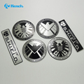 Multitype etiquetas personalizadas Marvel agentes da Shield etiqueta do emblema do emblema Car styling decalques do carro criativo acessórios Auto