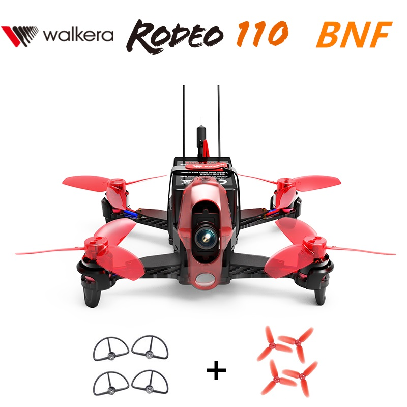 Walkera Rodeo 110 Brushless Racing Drone BNF2 without Remote controller with 600TVL Camera  Get Free Gifts