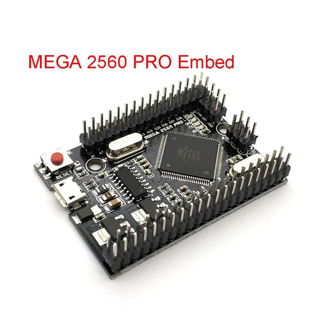 MEGA 2560 PRO Embed CH340G/ATMEGA2560 16AU Chip With Male Pinheaders Compatible For Uno Mega2560