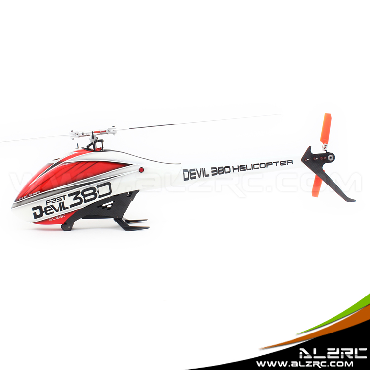ALZRC - Devil 380 FAST FBL KIT - RC 380 Helicopter - Standard alzrc devil 450 helicopter parts 450 fast fiberglass shell